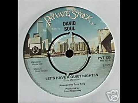 David Soul - Let`s Have A Quiet Night In