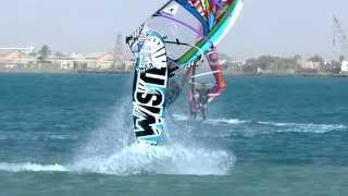 preview picture of video 'Windsurfing. Slow motion. 2013.'