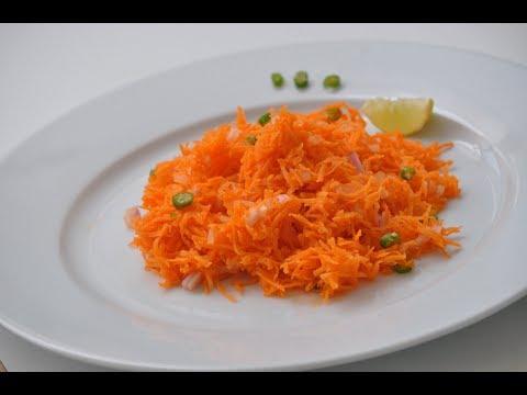 Nadan Carrot Salad -Simple Carrot Salad