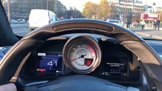 Déchargement + balade de la Ferrari GTC4 lusso T
