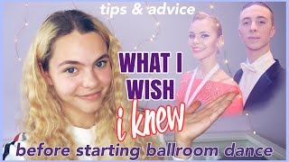 BEGINNER BALLROOM DANCE TIPS & ADVICE | what I wish I knew before my first dance class.