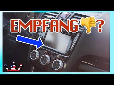 🔴 Auto Radio Empfang schlecht, verbessern,  Verstärker TIPP 👌