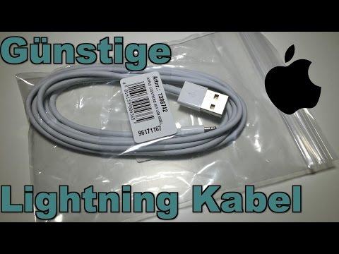Günstige(re) Original Apple Lightning Kabel  - Mein Tip  Bulk-Ware (Deutsch)