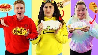 USING ONLY CANDY TO COOK CHALLENGE! $1 vs $100 challenge