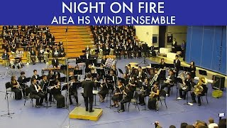 preview picture of video 'NIGHT ON FIRE | Aiea HS Wind Ensemble | 2015 South POB'