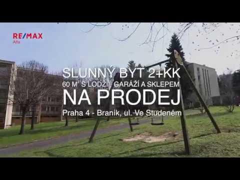 Video Prodej bytu 2+kk v osobním vlastnictví 60 m², Praha 4 - Braník