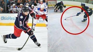 USING PANARINS HOCKEY STICK | 3 On 3 GoPro Hockey