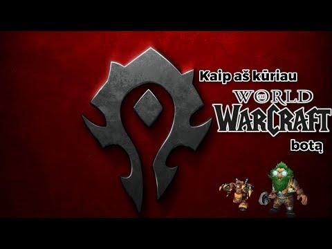 Kaip aš kūriau World Of Warcraft Botą