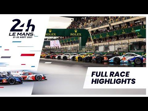 ル・マン24時間 決勝レースのハイライト動画