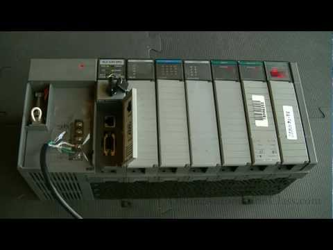 RSLOGIX 500 Pro Training Course: Connecting to a PLC with ...