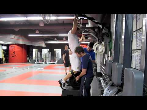 Crossfit BC: Dead Hang Weighted Pull Up