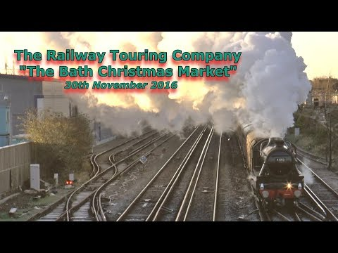 LMS 45212 & WCR 57314 on 'The Bath Christmas Market' 30th No…