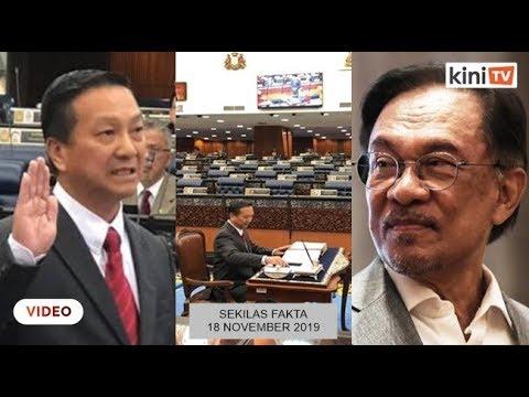 Jeck Seng angkat sumpah, Menteri tak hadir, Kalau tak belajar lagi, tak layak lagi memerintah