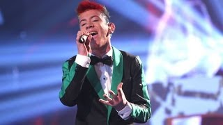 "DSDS 2012 Finale Daniele Negroni mit ""Don't Think About Me"""