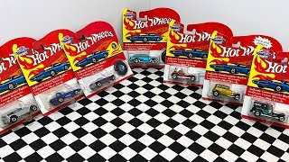 Opening Vintage Collection Hot Wheels Models