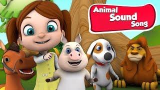 песня животных | песня для детей | мультики для детей | Animal Song | Super Kids Network Russia