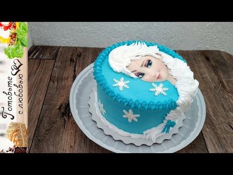 Идея торта с Эльзой