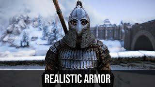 Skyrim Mod - NordWarUA Realistic Armor