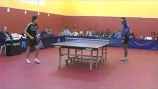 Tenis de mesa. Superdivisión. Sanse 3 - Priego 2. 16.3.2008