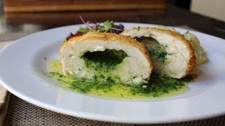 Chicken Kiev - Crispy Chicken Breast Stuffed with Garlic Butter Sauce - How to Make Chicken Kiev
