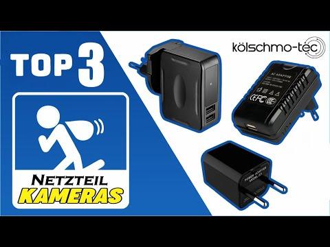 TOP 3 USB Ladegeräte Kameras getarnt - Spion Netzteil Kamera Testbericht 2019