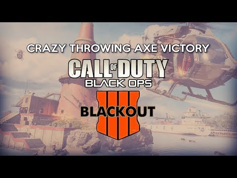 Throwing Axe Victory!! COD Black Ops 4 Blackout Duos With JoshOG