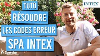 Résoudre les codes erreur de votre spa gonflable INTEX
