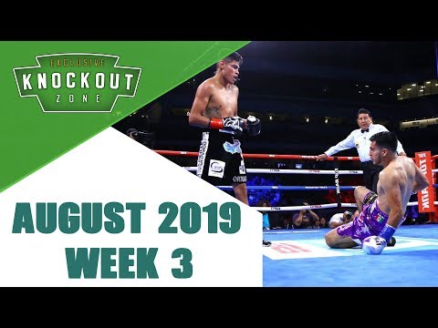 Boxing Knockouts | August 2019 Week 3