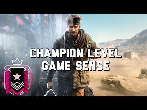 CHAMPION LEVEL GAME SENSE - Rainbow Six Siege Console Champion