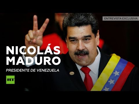 Entrevista exclusiva a Nicolas Maduro, presidente de Venezuela