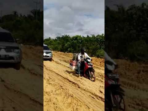 Perbaiki Jalan Lintas Bono, PUPR Riau Alokasi Rp14 Miliar di APBD 2019