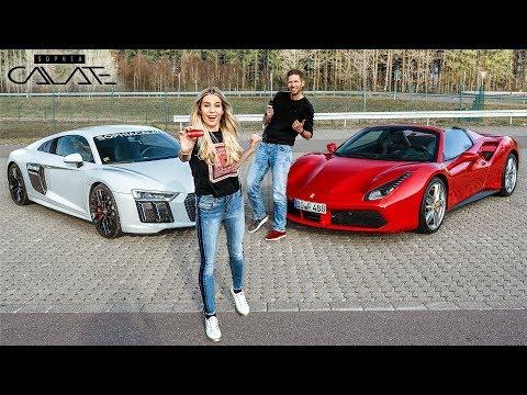 Ich tausche meinen Audi R8 gegen Ferrari 488 Spider!