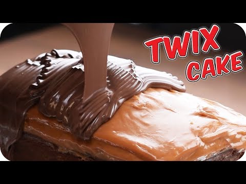 GIANT TWIX Bar Slice ! | Twix Cake Recipe | Learn how to Bake with So Yummy