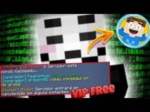 RedeSky HACKEADA: Vip IMPERADOR de GRAÇA | Doutor Biscoito banido do servidor