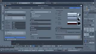 Как настроить язык в 3D Blender