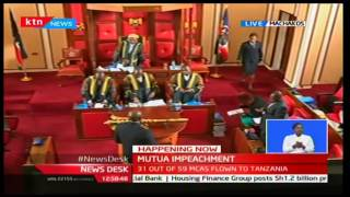 NewsDesk: Governor Alfred Mutua's impeachment on going with only 28 MCAsmembers available