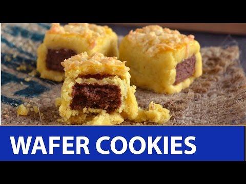 Video Resep: cara bikin kue kering wafer cheese cookies - kue lebaran terbaru