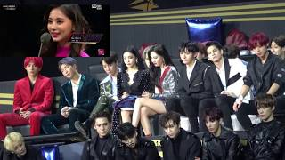 kpop idols reaction to twice tzuyu - TH-Clip