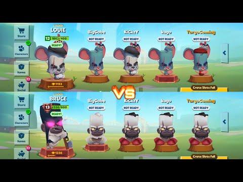 Smash Gang vs Teeth Gang    Zoo Battle Arena