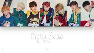 [KAN|ROM|ENG] BTS (방탄소년단) - Crystal Snow (Color Coded Lyrics)