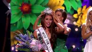 Nia Sanchez Miss USA 2014 crowning moment