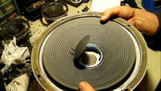 JBL L65 Jubal Restoration: Refoaming and Crossover repair.