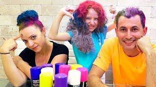 🖍 3 ЦВЕТА ВОЛОС ЧЕЛЛЕНДЖ | Новый 3 Маркера Челлендж | 3 Hair Color Challenge