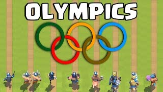 Clash Royale Olympics | Who's the Fastest ?