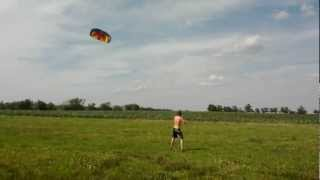 preview picture of video 'Ozone Ignition Kiteboard Trainer in Action'