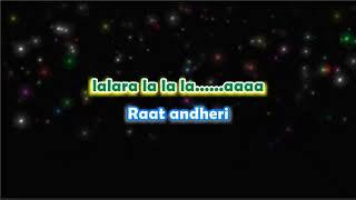 Tera Woh Pyar   Karaoke With Lyrics