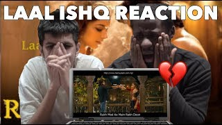 Arijit Singh - Laal Ishq FIRST REACTION 💔 | BRITISH REACTION TO BOLLYWOOD SONGS!!