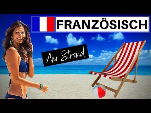 Französisch lernen für Anfänger | Lektion Strand und Meer | Französisch-Vokabeln A1 🇨🇵 ✔️