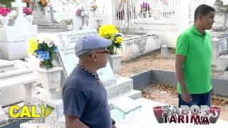 Entrevista a Julito Trompeta desde la Tumba de Hector Lavoe en Ponce PR