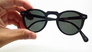 Oliver Peoples Gregory Peck OV 5217S 1031P2 Polarized Sunglasses Review & Unboxing